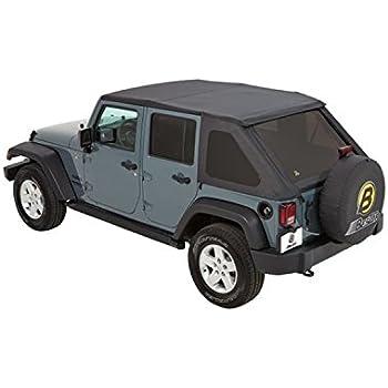 Soft Top Jeep >> Amazon Com Bestop 56823 35 Black Diamond Trektop Nx Complete