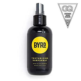 BYRD Texturizing Surf Spray - Volumizing Beachy Spray With Sea Salt and Coconut Water for Texture, Vitamin B5, UV Protection, Mineral Oil Free, Paraben Free, Phthalate Free, Sulfate Fre