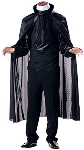 California Costumes Men's Headless Horseman Costume, Black, Medium (Halloween Costume Headless)