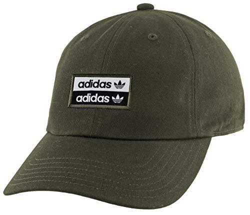 adidas Originals Originals Stacked Forum Strapback Cap, Night Cargo/Black/White, One Size