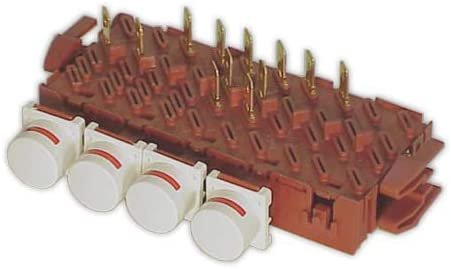 DOJA Industrial | Teclado LAVADORA FAGOR 5 cuerpos 4/T 12/Fs | Botoneras Kits