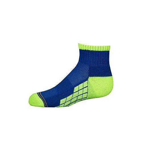 6-Pair Gold Toe Boys 8-20 GT131 Gold Toe Boys Ultra Tec Athletic Quarter Socks