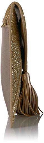 Envelope Chain Strap Gold Fix Izzi The Crossbody Clutch Glitter with YtfxSqw
