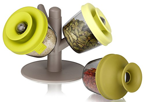 Vacu Vin PopSome Herbs and Spices, Set of 3