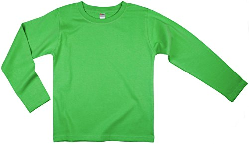 Earth Elements Little Kids'/Toddlers' Long Sleeve T-Shirt 4T Lime