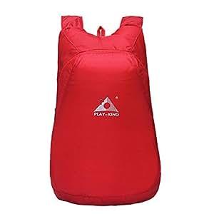 enjocho nuevo ocio plegable impermeable Mochila Ligero Durable piel paquete bolsa de almacenamiento, 20L gran capacidad