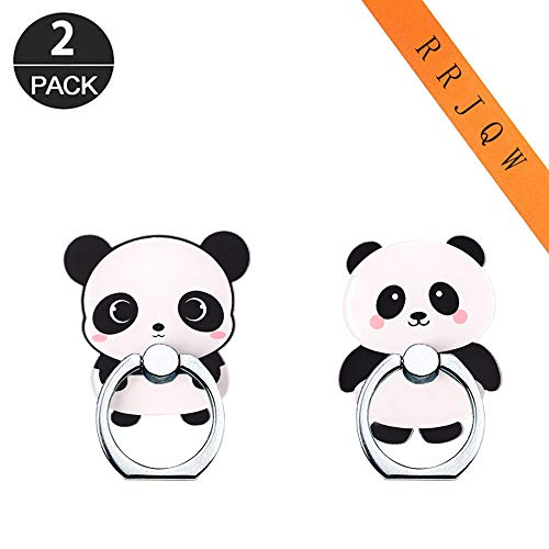 Phone Ring Holder Stand,Panda Phone Ring Stand Holder 360 Rotation Finger Ring Grip Stand for Cellphones,Smartphones and Tablets