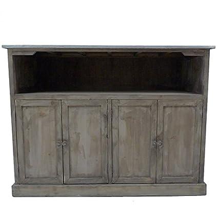 Bancone da cucina, mobile da bagno, bar, credenza, madia, in legno ...