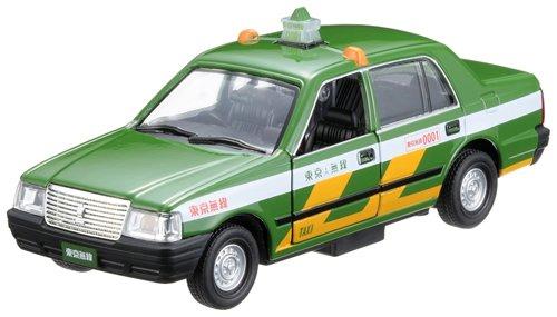 1/32 トヨタ クラウン タクシー 東京無線(エバーグリーン) 「プレイキャスト No.16」 ダイキャストカー 64514-TM