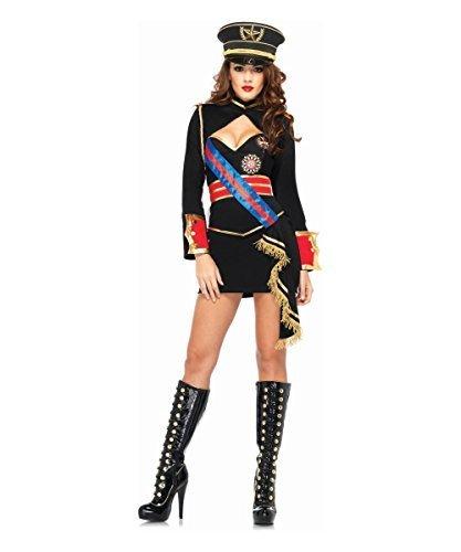 Diva Dictator Costume (Leg Avenue Diva Dictator Costume (S, Black) by Leg Avenue)