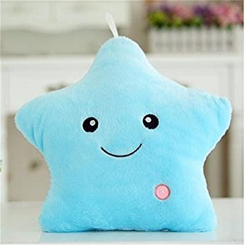 Amazon.com: grandey Luz LED Plush Pillow luminoushold ...