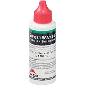 MSR Sweet Water Purifier Solution 2-Ounces 59mL