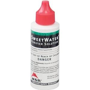 MSR Sweet Water Purifier Solution 2 Ounces 59mL