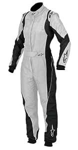 Alpinestars (3360113-19-42) Silver Size-42 Stella GP Pro Suit