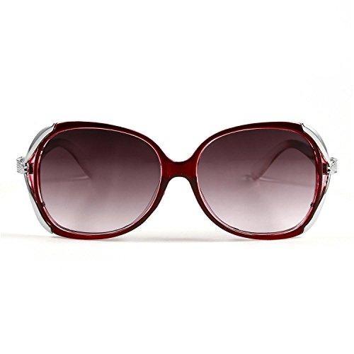Meflying New Women Fashion Sunglasses Eyewear Vintage Style Casual Round Shape Sunglasses Sunglasses