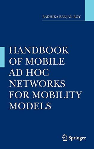 Handbook of Mobile Ad Hoc Networks for Mobility Models (Dop Mobile)