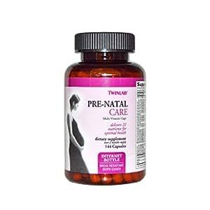 Twinlab Pre-Natal Care Multi Vitamin Capsules, 144 Count