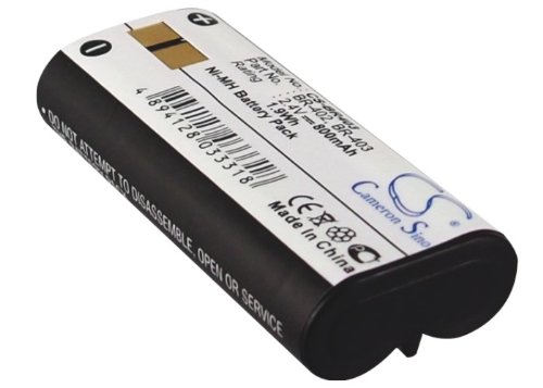 Battery2go Ni-MH BATTERY Pack Fits OLYMPUS DS-2300, BR-403, DS-3300, BR-402, DS-4000, DS-5000ID, (Olympus Nimh Battery)
