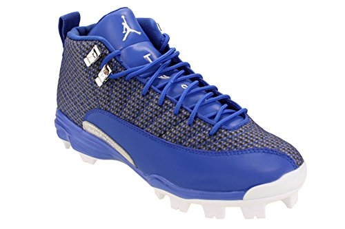 XII Royal Jordan Nike Blue Cleat MCS Game Retro Baseball Men's White O8EBwq8T