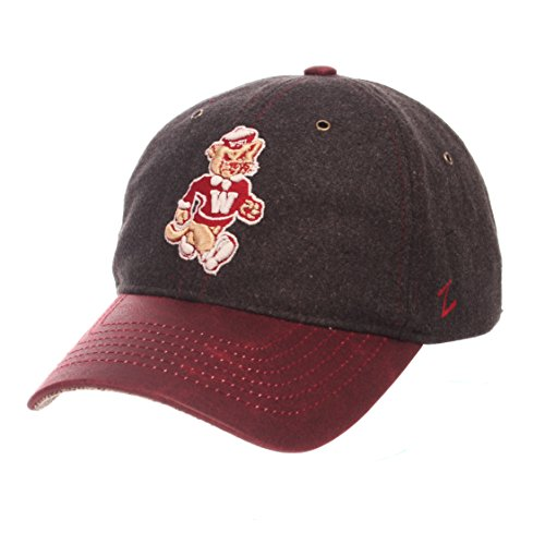 NCAA Washington State Cougars Adult Men Alum Heritage Collection Hat, Adjustable, Heather Gray