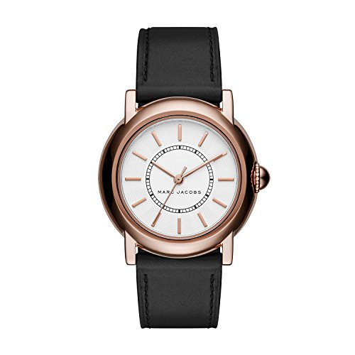 Marc Jacobs Women's Courtney Black Leather Watch - - Marc Marc By Jacobs Buy