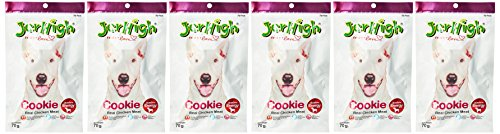 Jerhigh Realchicken Meat for Dog Cookie70g X 6