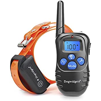 Dogwidgets  Dog Training Shock Collar With Remote Rechargeable Charger