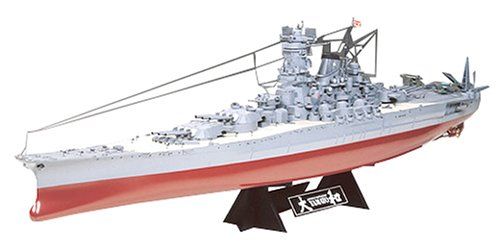 Amazon com: Tamiya 1/350 Japanese Yamato Battleship Kit