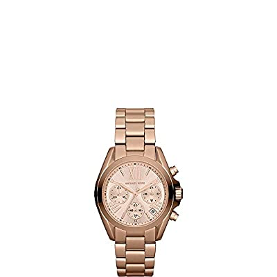 Michael Kors Women's Goldtone Mini Bradshaw Watch