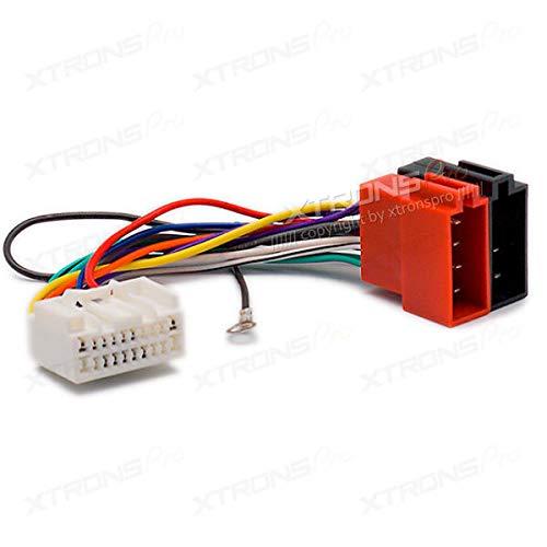 FidgetFidget Adapter Plug for Mitsubishi 2007+ 12-130 Car Stereo Radio ISO Wiring Harness (Code Radio Mitsubishi)