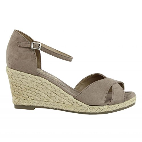 de ANT Zapatos cuña TAUPE REFRESH de 62091 Mujer wwAqErY