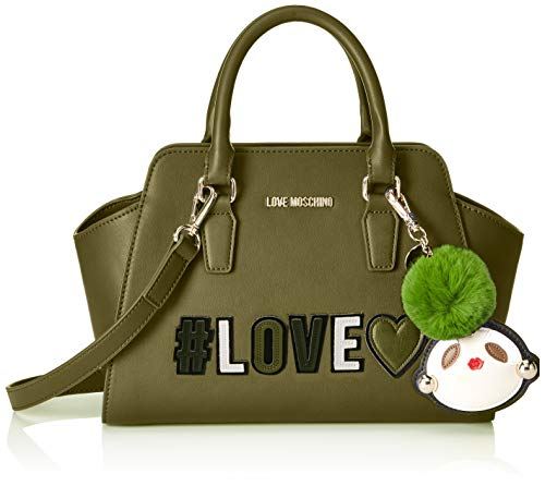 Sacs Verde Love Pu Vert menotte Moschino Borsa qPwUFt
