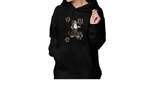 Amazon.com: Helpless Bernese Mountain Dog Hoodies Pullover Sweatshirts with Pocket Womens: Clothing