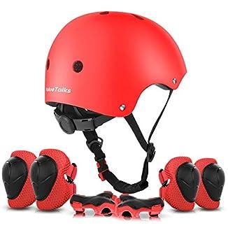 Protecciones Infantiles para bicicleta casco guantes y rodilleras