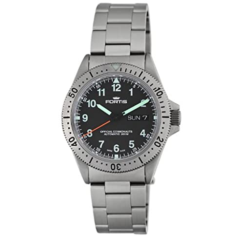 - 415ZGAu3ALL - Fortis Men's 610.10.11 M Official Cosmonauts Day and Date Watch