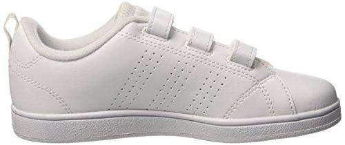 Kinder F17 White EU 28 Vs Cl Ftwr Laufschuhe C Grey Ftwr Mehrfarbig adidas White Unisex CMF ADV One T7wz5