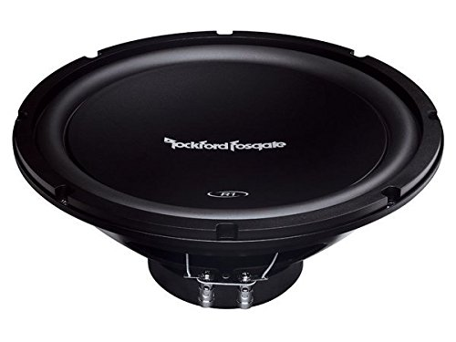 Rockford R1S4-12 12-Inch Single Voice Coil 200 Watt RMS Power Handling Subwoofer ()