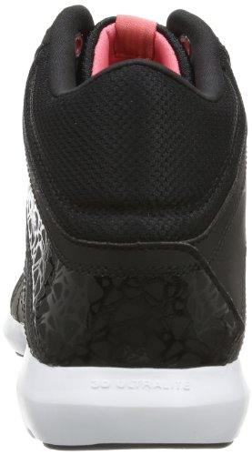 ReebokSTUDIO BEAT VI MID RS - Zapatillas de Atletismo Mujer - multi-coloured - Mehrfarbig (BLACK/WHITE/PURE SILVER/VICTORY PINK)