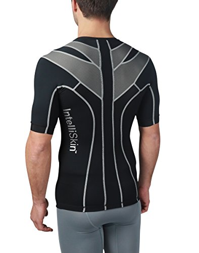 IntelliSkin Newest Mens Foundation Vtee - Posture Correcting + Performance