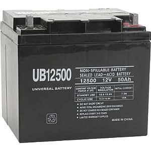 UPG UB12500 12v 50Ah I4 Terminal AGM