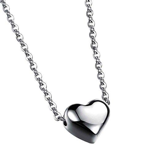 F-blue Love Heart Pendant Bib Statement Chain Gold Plated Necklace Women Jewelry (Romance Bib)