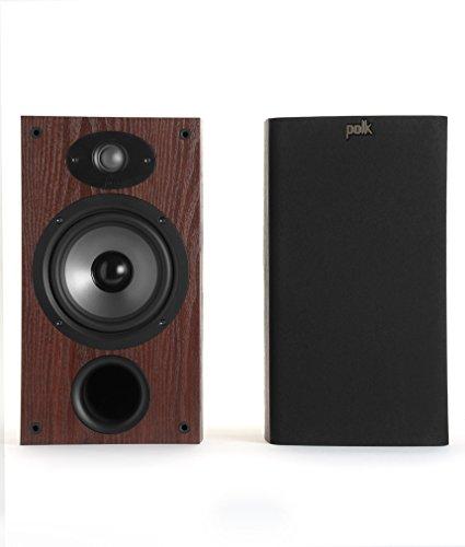 Polk Audio TSx 220B Regallautsprecher (2-Wege, Bassreflex, 8 Ohm) kirsche