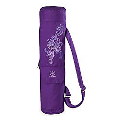 Gaiam Cargo Yoga Mat Bag, Deep Plum Surf