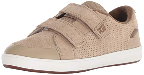Stride Rite Jude Boy's Premium Leather Sneaker, Wheat, 8.5 M US Toddler