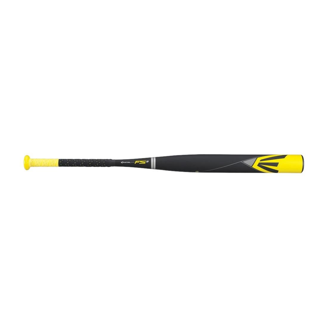 イーストンfp14s3 fs3複合Fastpitch Softball Bat B00JXW5IVWYellow/Black/Medium Yellow 33\