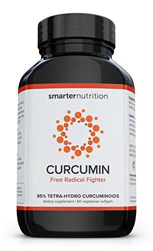 Smarter Turmeric Curcumin - Potency and Absorption in a SoftGel | The Most Active Form of Curcuminoid Found in the Turmeric Root | 95% Tetra-Hydro Curcuminoids (60 Count - 1 Month Supply) (Caps Formula Stress 90)