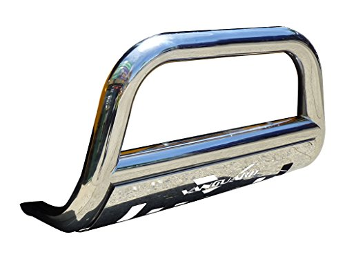 Vanguard Compatible with Mercedes Benz 1998-2005 ML, ML320 W163 Bull Bar with Skid Plate S/S