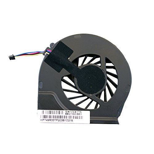 CBK CPU Cooling Fan For HP Pavilion G7-2000 G7-2240US G7-2220US G7-2269WM G7-2022US Series G6-2100 G6-2200 Series G7-2243us G7-2246NR G7-2320DX Series 683193-001 4GR53HSTP60 (Reviews Cpu Cooling Fan)