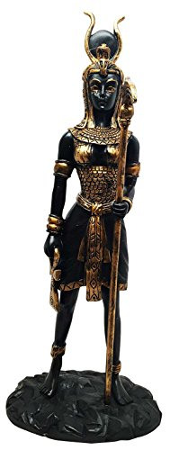 Egyptian Goddess Hathor Sculpture Motherhood Music Dance Patroness Statue Mansion of Horus Sculpture