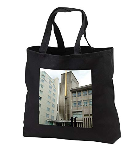 Jos Fauxtographee- Church of Jesus Christ London - The Church of Jesus Christ of Latter Day Saints in London - Tote Bags - Black Tote Bag JUMBO 20w x 15h x 5d (tb_293345_3) by 3dRose